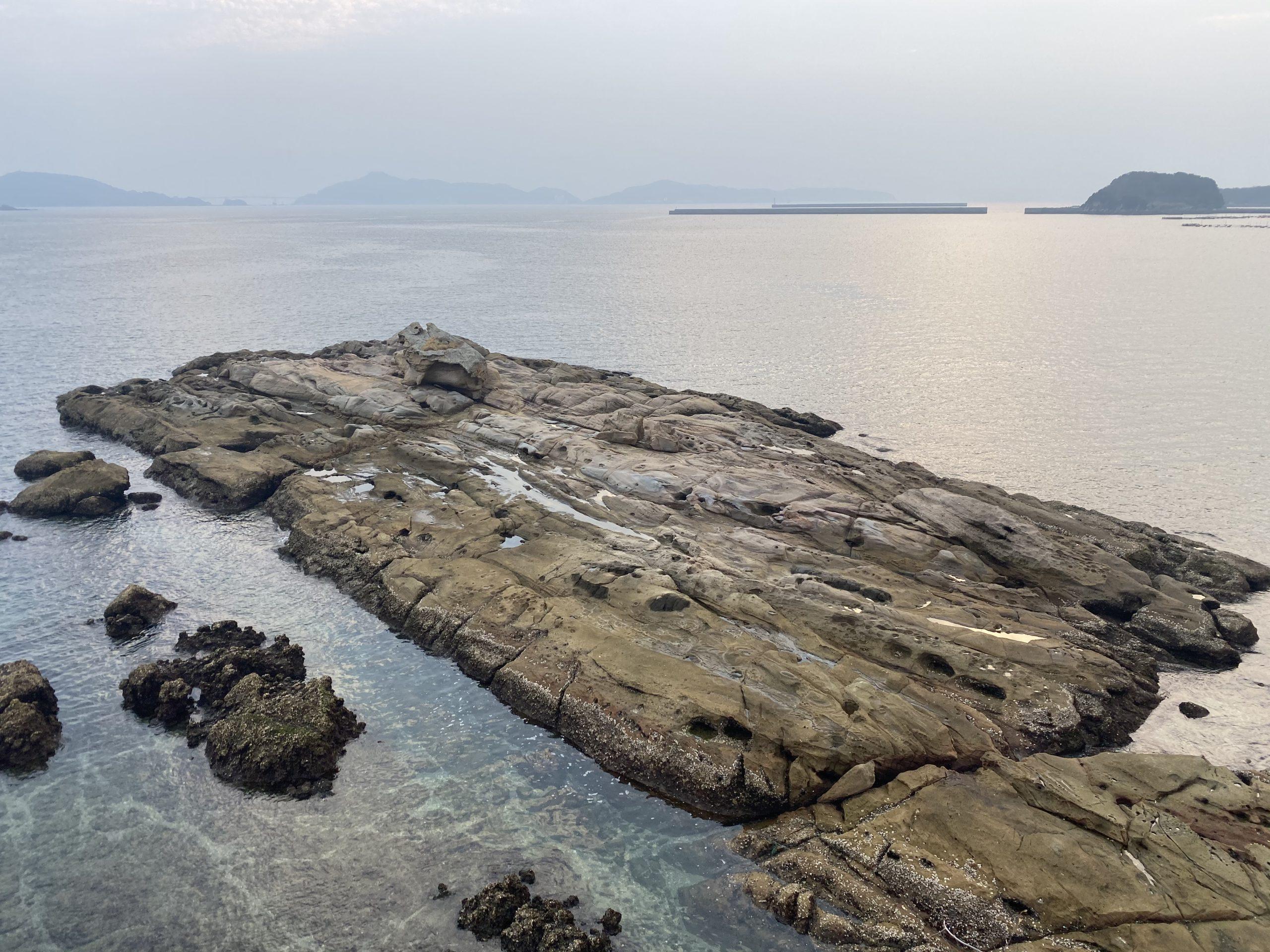 長崎神ノ島マリア像周辺ドンク岩
