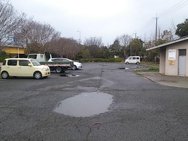 泉大津人工島 駐車場
