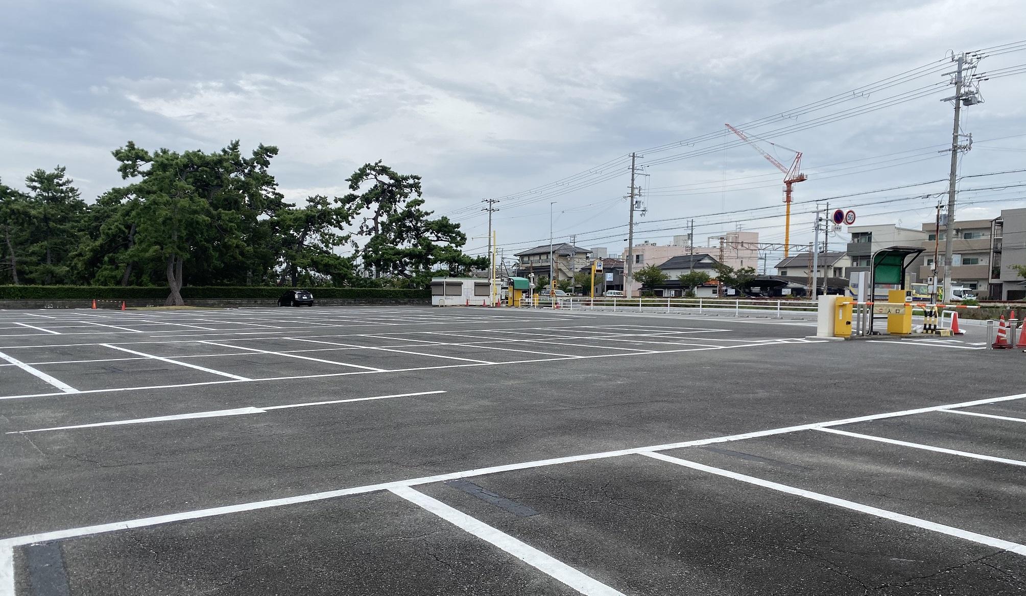 浜寺公園 駐車場