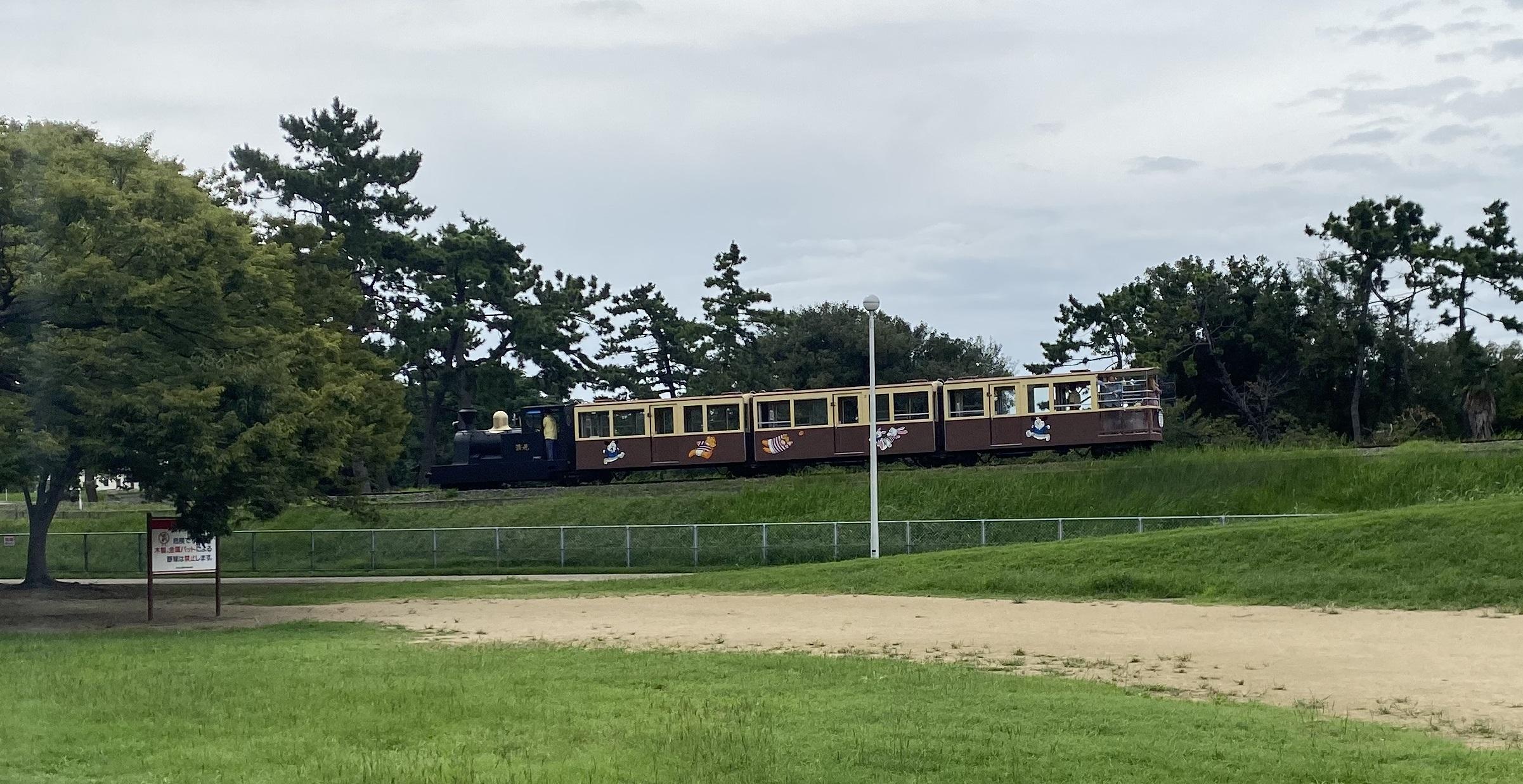 浜寺公園 汽車