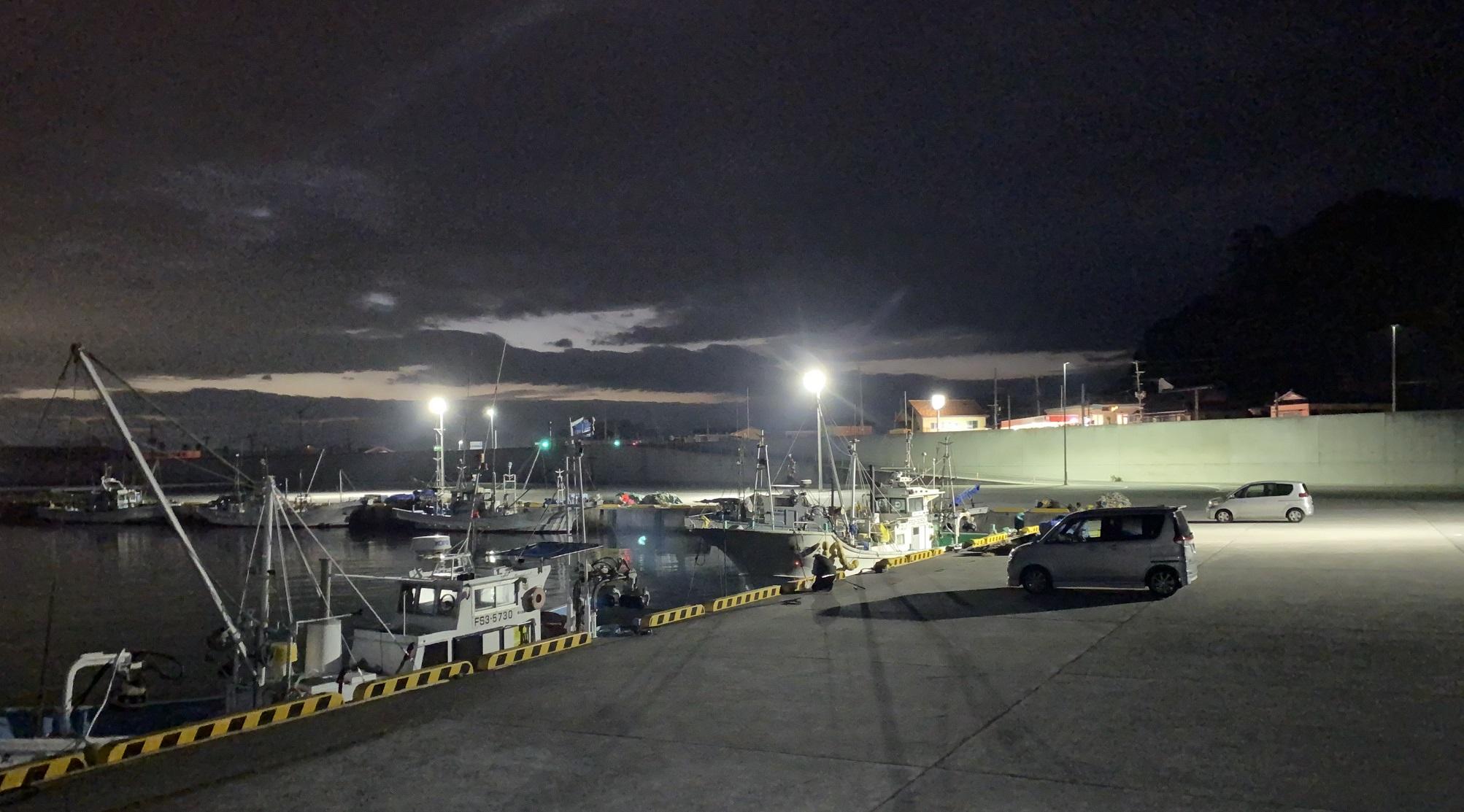 四倉漁港 常夜灯