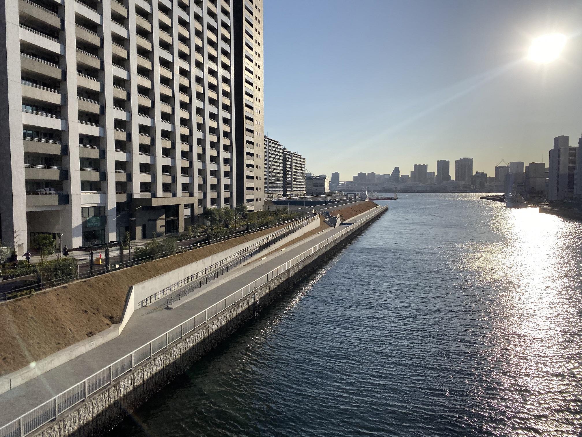 朝潮運河親水公園04