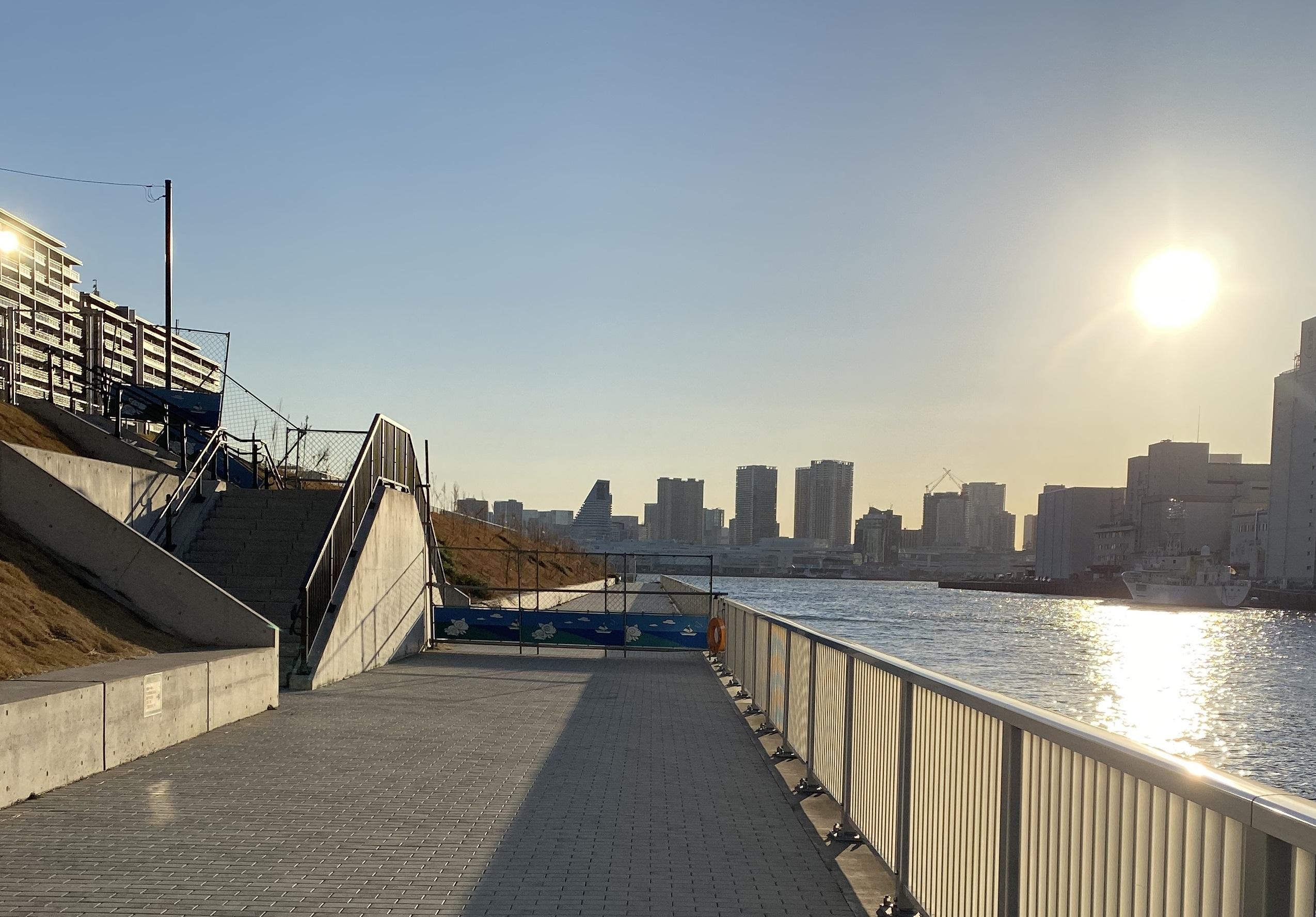 朝潮運河親水公園08