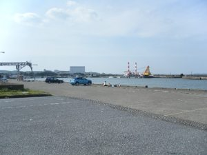 大原漁港 駐車場