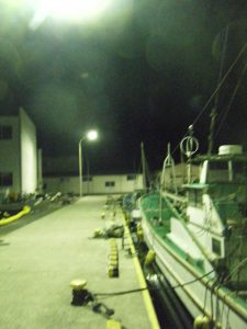 勝山漁港 ナイターOK