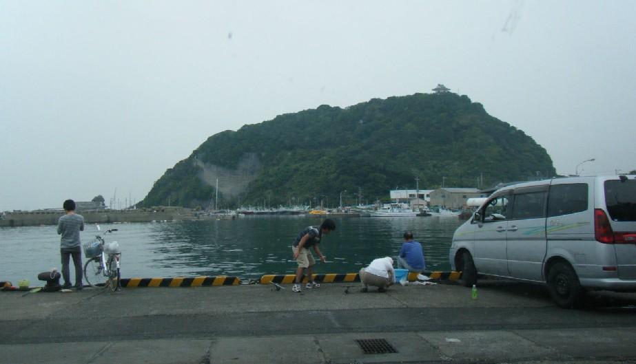 勝山漁港 全景