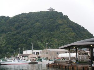 勝山漁港 漁協前