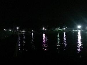 岩船港 夜景