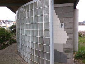 富浦港 トイレ02