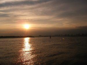 若洲海浜公園 夕暮れ