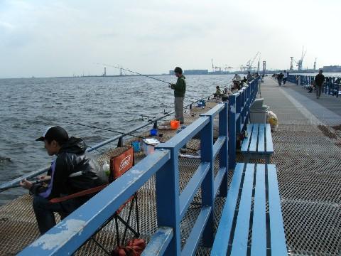 本牧海づり施設 桟橋