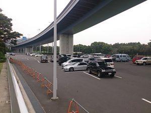 若洲海浜公園 駐車場