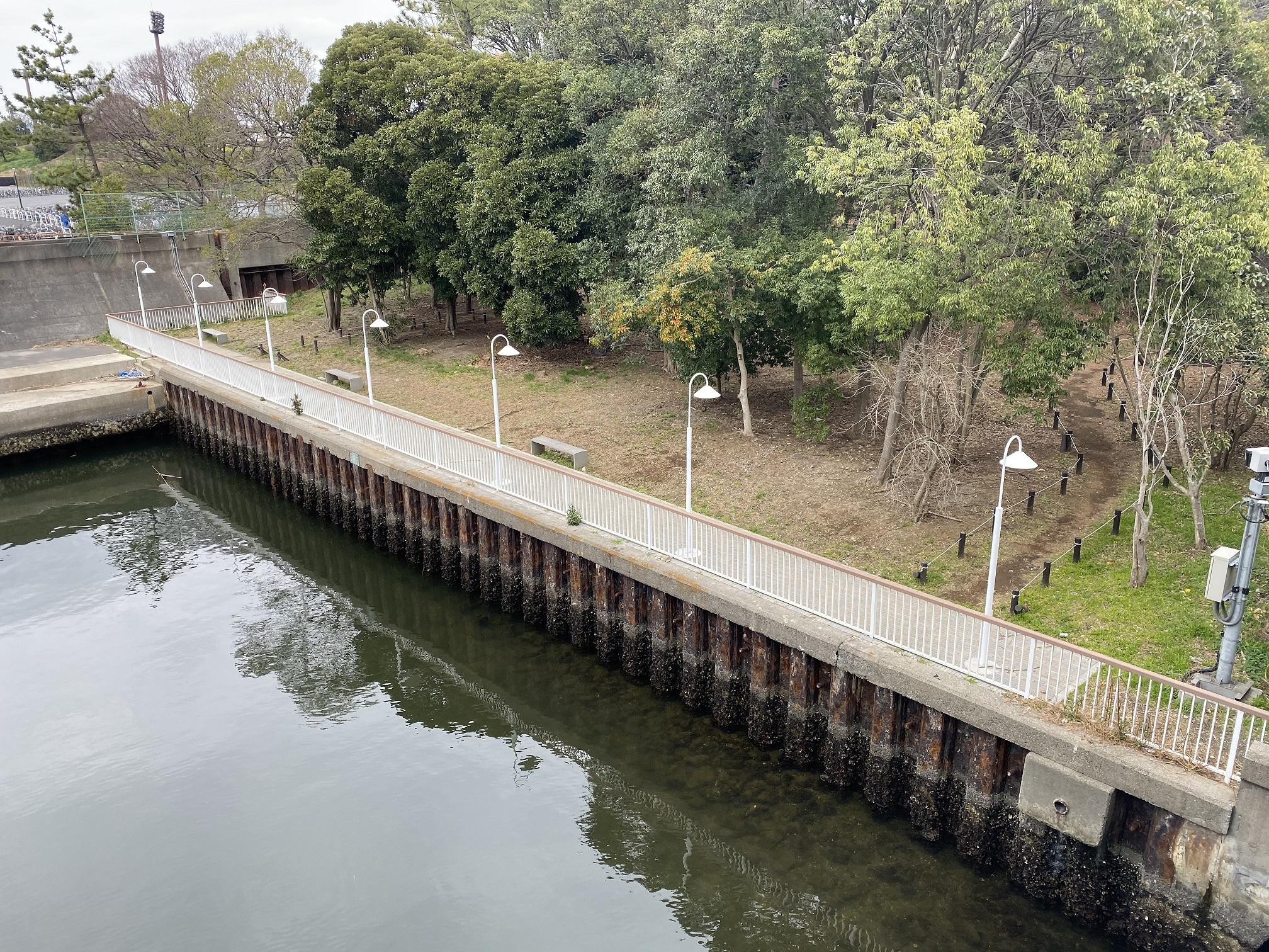 夢の島緑道公園02