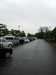 暁ふ頭公園 駐車場