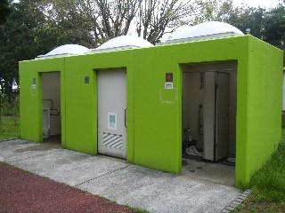 浮島つり園 過去にあったトイレ