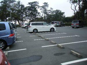 もずがね 駐車場02