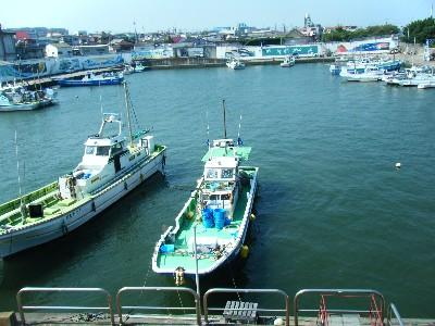 平塚漁港 全景