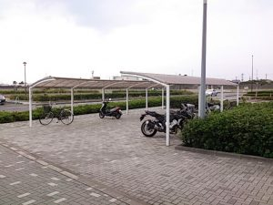 焼津 ふぃしゅーな 駐輪場