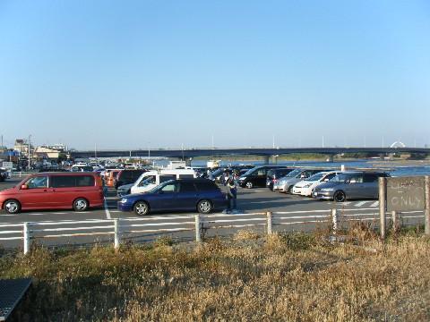 平塚漁港 駐車場