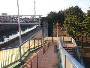 猫実川 歩道橋