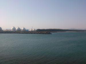 大井川港 港内は広い