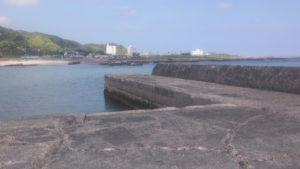 原港 堤防