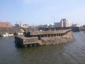 堀江ドック 堤防