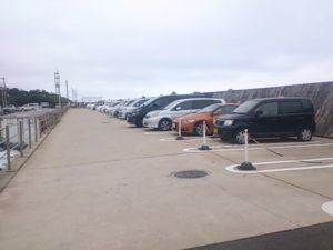 鹿島港魚釣園 駐車場