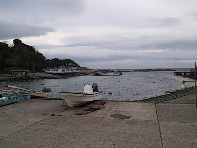 長井荒井漁港全景