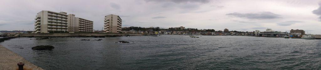 長井漁港 全景02