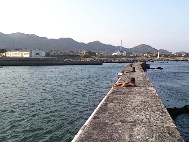 千田港 全景
