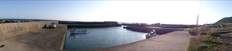 根本港パノラマ