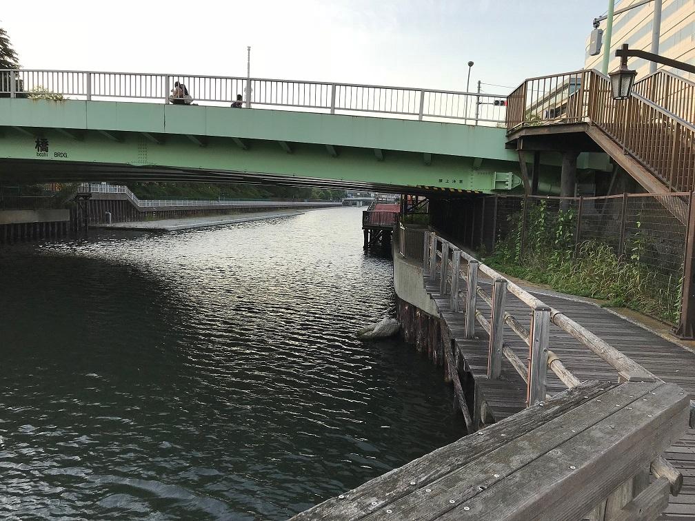 本村橋 上流側