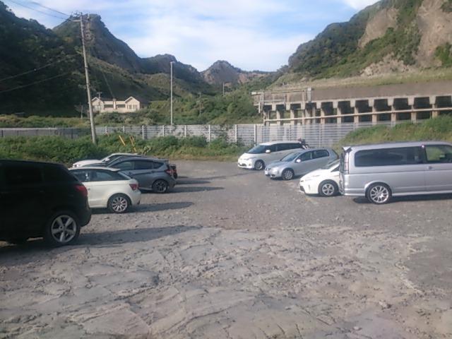 明鐘岬 駐車場