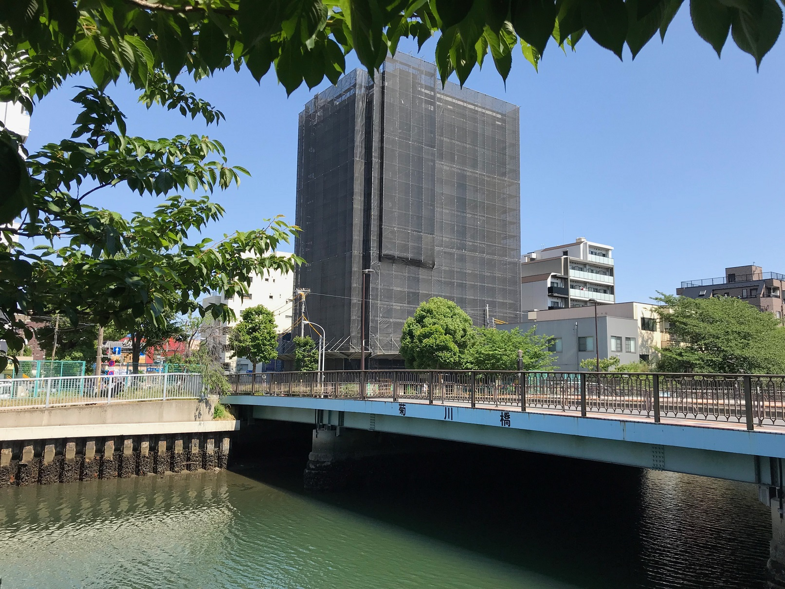菊川橋 全景