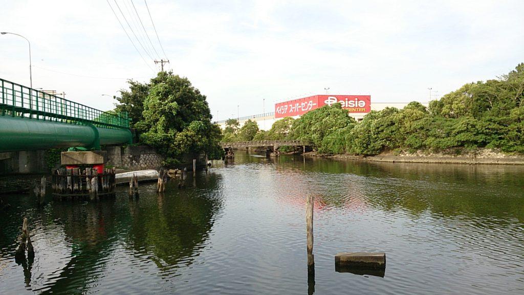 八幡運河 わたつみ神社前02