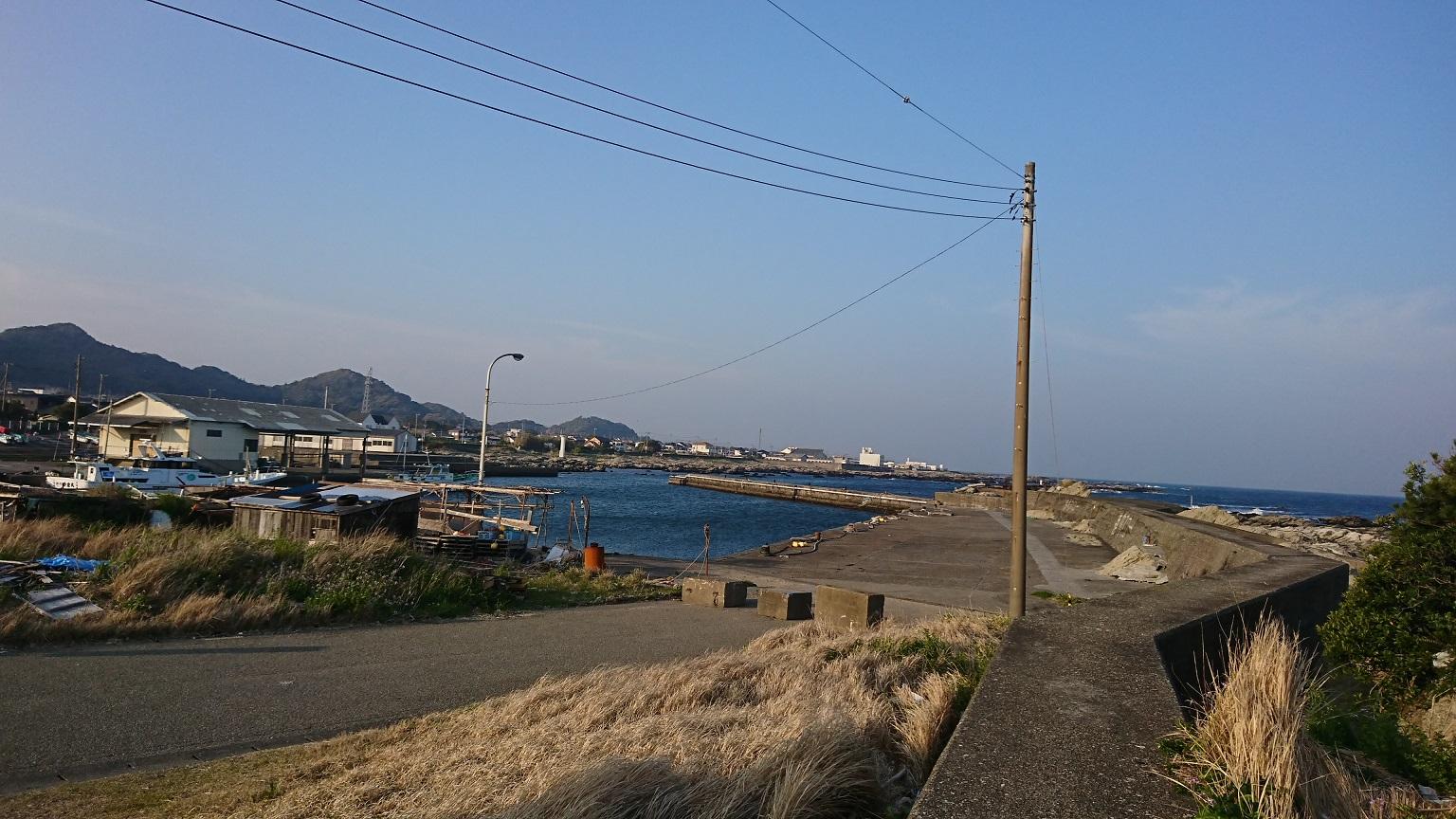 千田港 釣り場のグルメ