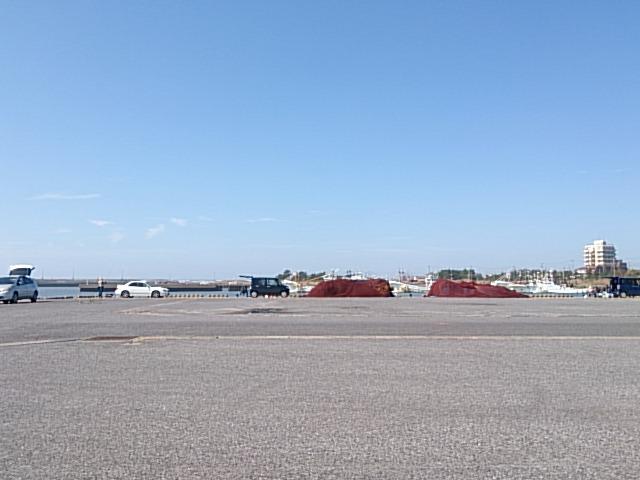 飯岡漁港 駐車場01