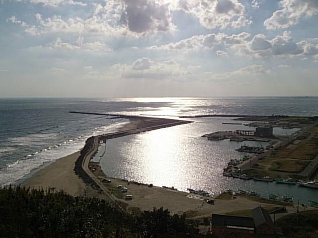 飯岡漁港全景02