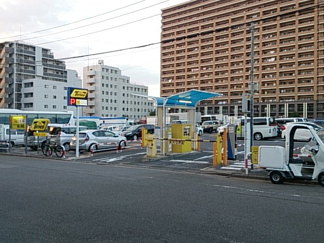 横十間川親水公園 仙台堀川公園駐車場