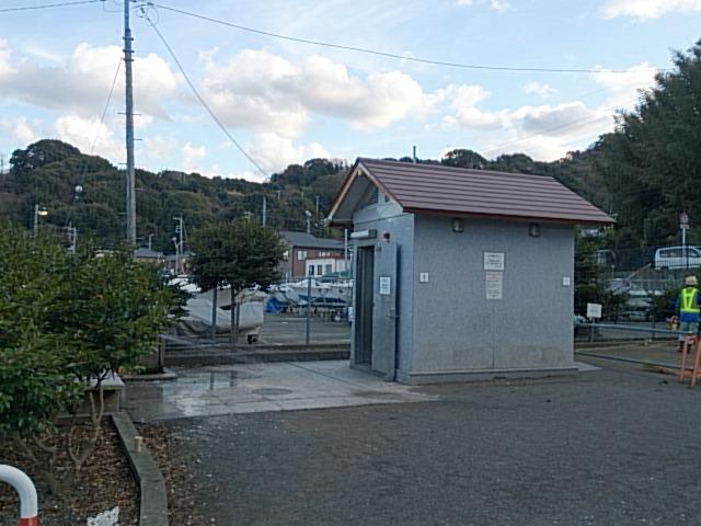 足保港 トイレ