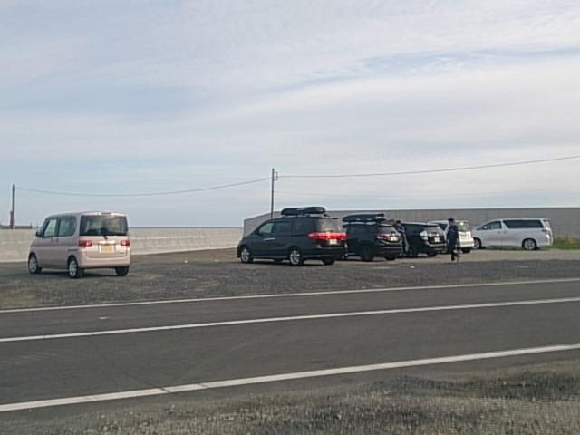 日立会瀬港 駐車場01