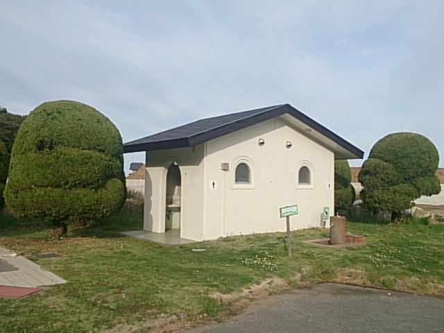 日立会瀬港 トイレ