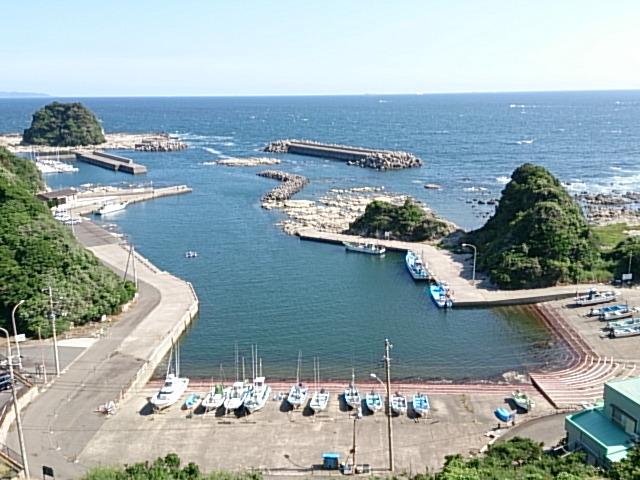 宮川港 全景