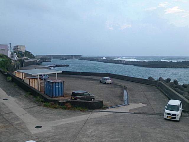 大島 元町港10