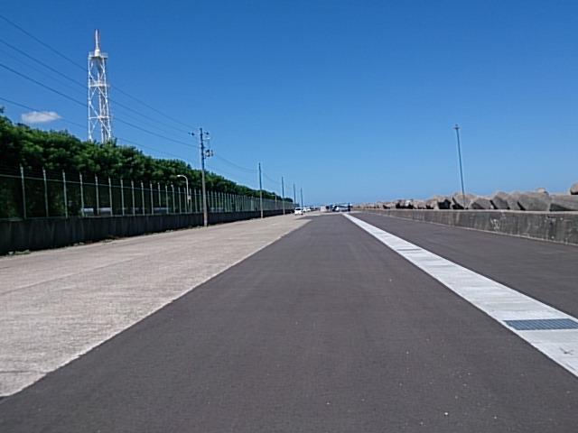 東港第2東防波堤 駐車場
