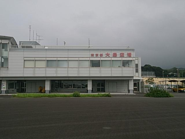 大島空港エントランス