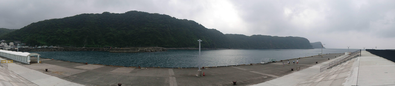 大島 岡田港