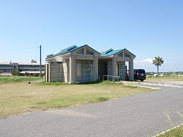 夷隅川河口 トイレ
