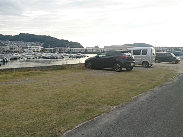 海田湾矢野川河口 駐車場